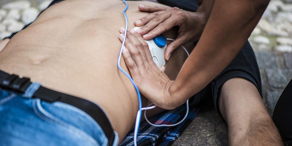Corso di rianimazione cardiopolmonare e abilitazione all'uso del defibrillatore (BLS-D)