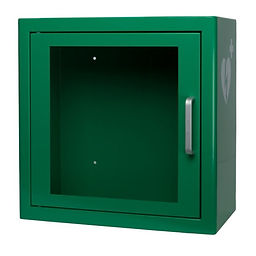 ARKY-AED-green-indoor-cabinet-with-ILCOR