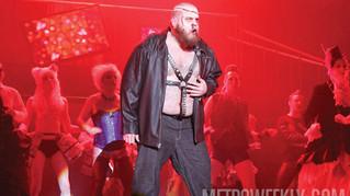 """Eddie"" in Rocky Horror Live, Gay Men's Chorus Washington DC"