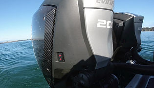 Matt Watson talks about the Evinrude H2 200HP twin-rig with IDOCK fitted to his new Stabicraft 2750.