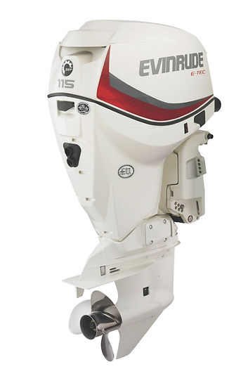 Evinrude E-TEC V4 115HP Ocean Pearl
