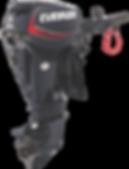 Evinrude E-TEC 25HP Tiller Steer Graphite