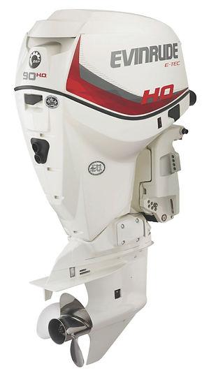 Evinrude E-TEC V4 90 H.O. Ocean Pearl