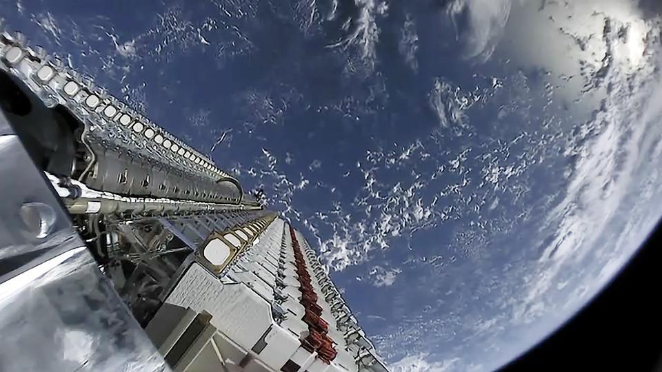 Projeto Starlink/Space X