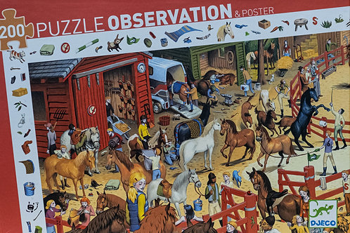 Puzzle Observation 200 dílků - Koňská jízdárna