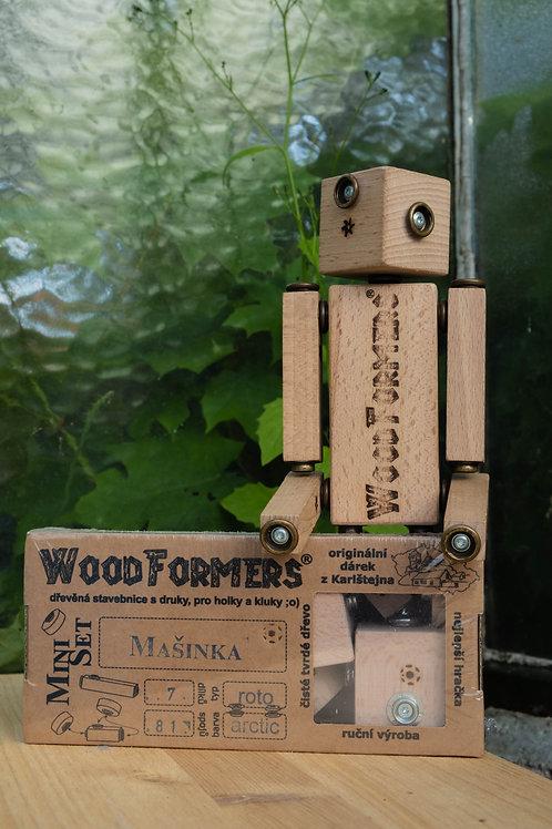 Dřevěná stavebnice s druky Woodformers