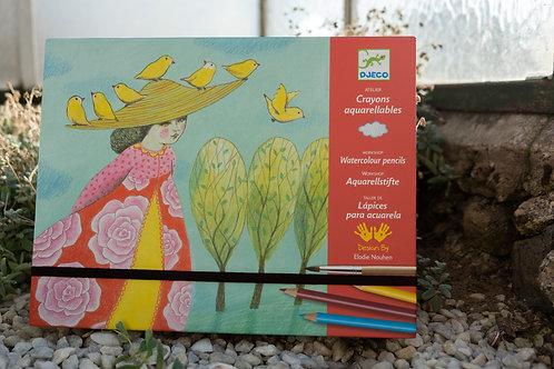 Djeco akvarelový výtvarný set