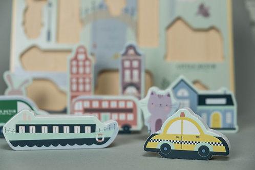 Little Dutch Puzzle Město