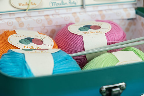 Pletení v kufříku Moulin Roty