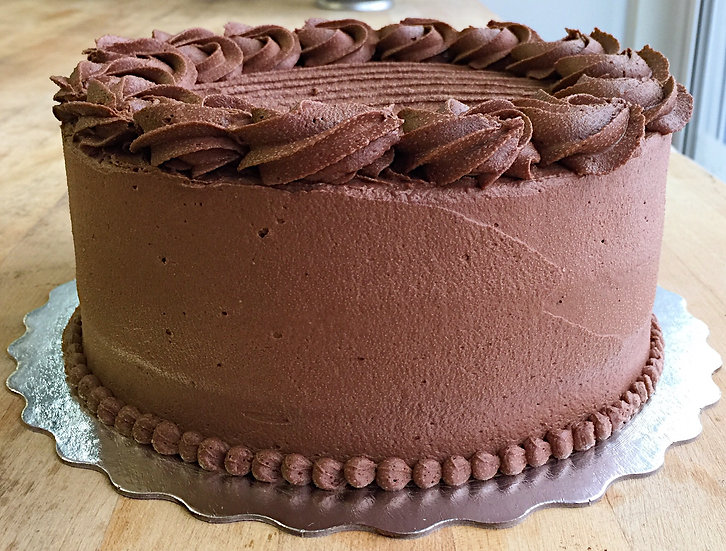 "Gâteau  6"" (choco ou vanille-framboise)"