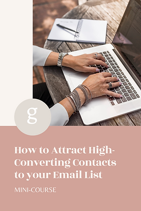 How to attract high converting contacts to your email list