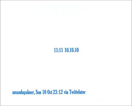 """11:11 10.10.10"""