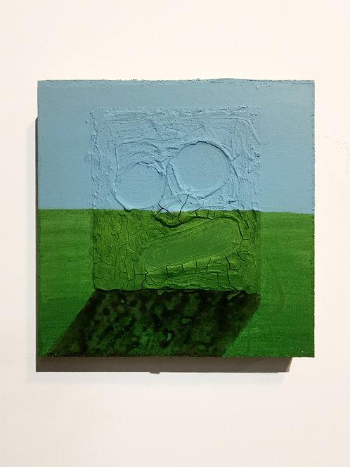 Kish, 2011, acrylic on panel, 10 x 10 inches