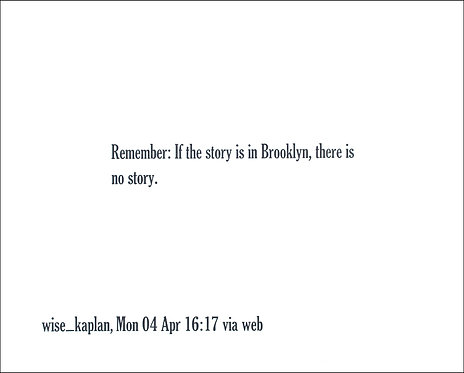 Remember: If the story