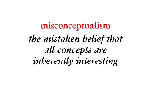 misconceptualism