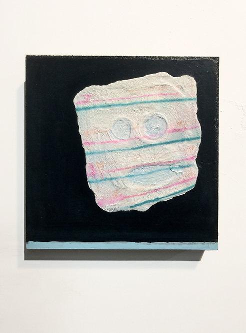 Thaitanic, 2011, acrylic on panel, 10 x x10 inches