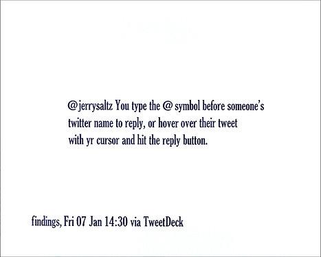 @jerrysaltz You type