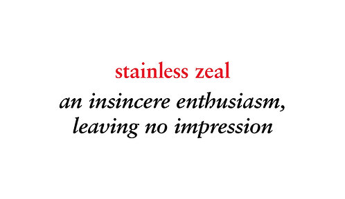 stainless zeal