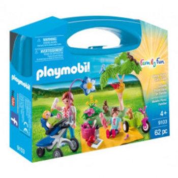 PLAYMOBIL 9103 MALETIN PICNIC FAMILIAR