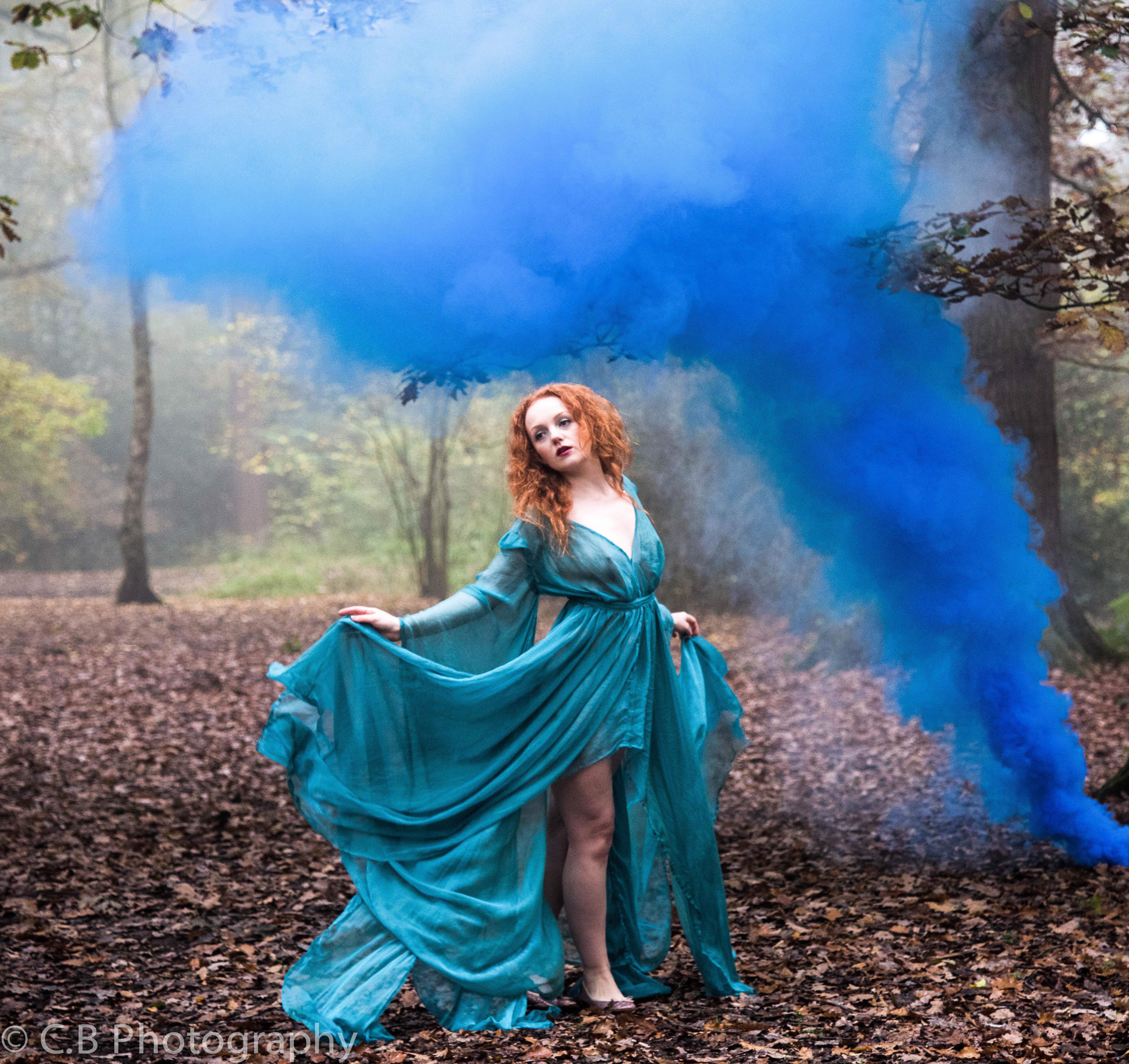 Surrealist Alice In Wonderland Shoot
