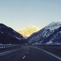 Sunrise mont blanc