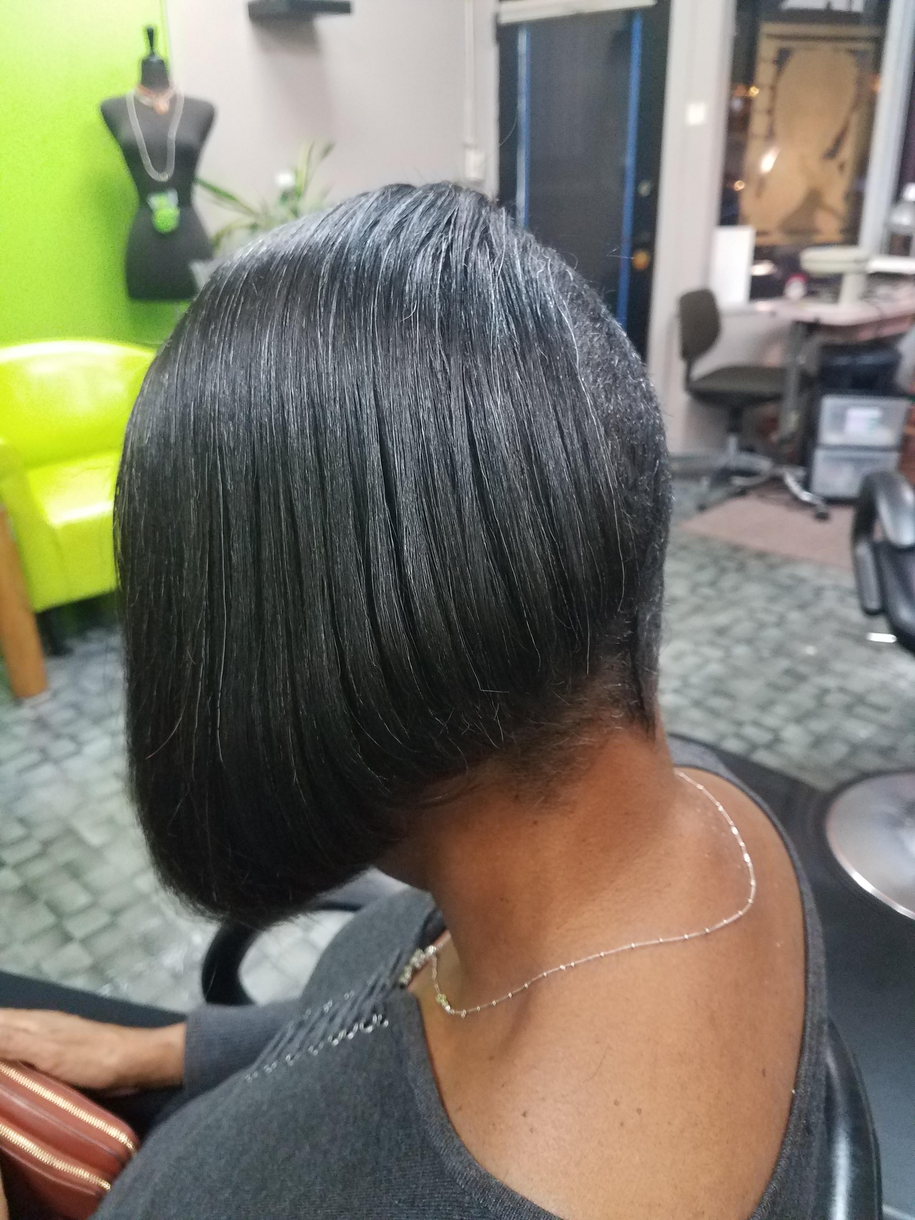 Haircut w/style