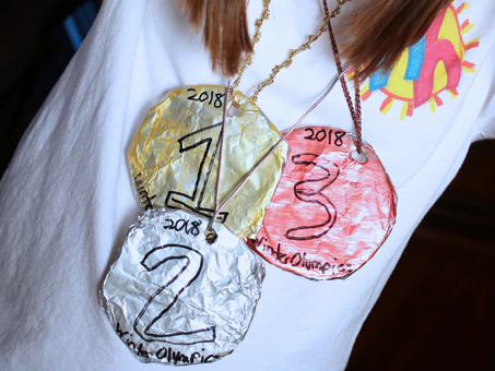 Arts & Crafts Cabin:  Olympic Medal