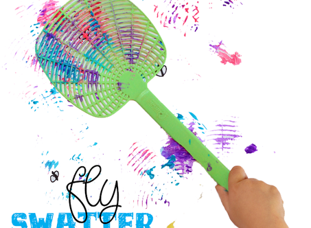 Arts & Crafts Cabin:  Fly Swatter Painting
