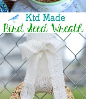Indoor Activity: Bird Seed Wreath