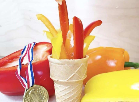 Bell Pepper Olympic Torch