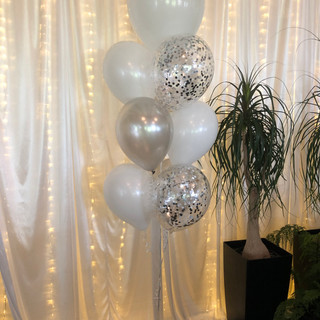 Helium filled bouquet