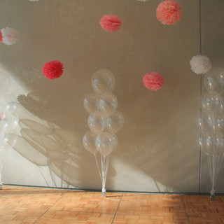 Helium Bouquets of Latex Clear