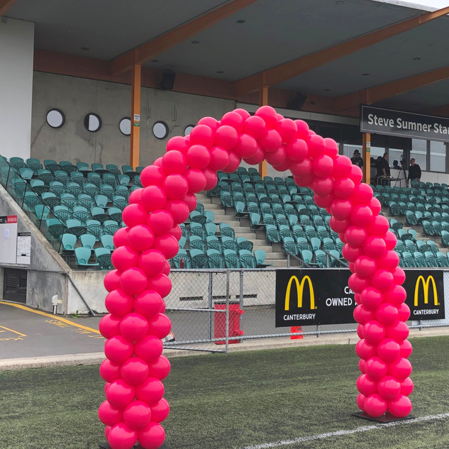 Breast Cancer Awareness Archway