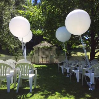 Giant white helium filled
