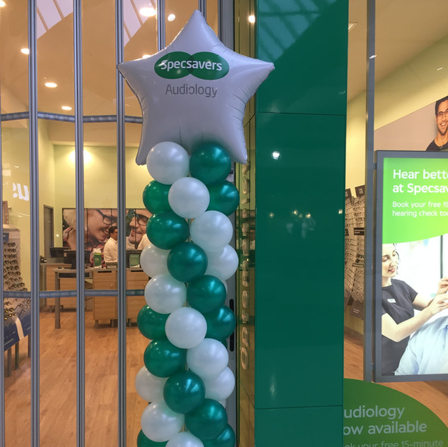 Column for Specsavers with Custom Decal
