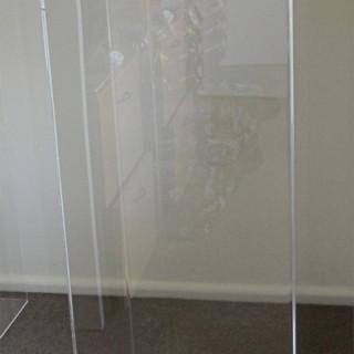 Acrylic Ghost Plinth Small