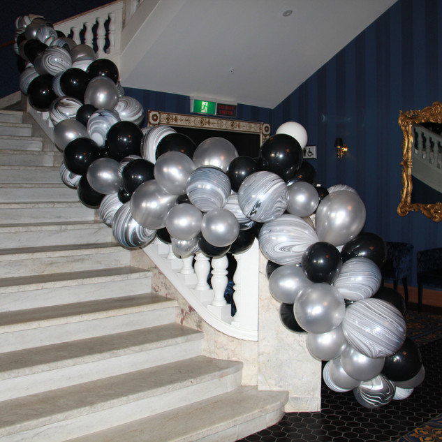 Isaac Theatre Royal Staircase is Perfect for Balloons