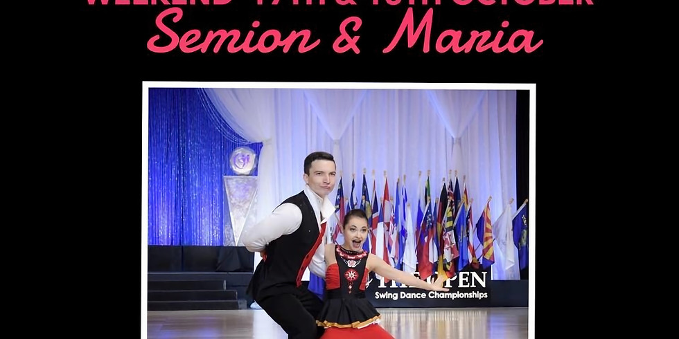 Weekend of Intensive West Coast Swing Workshops with International SuperStar Teachers Semion and Maria