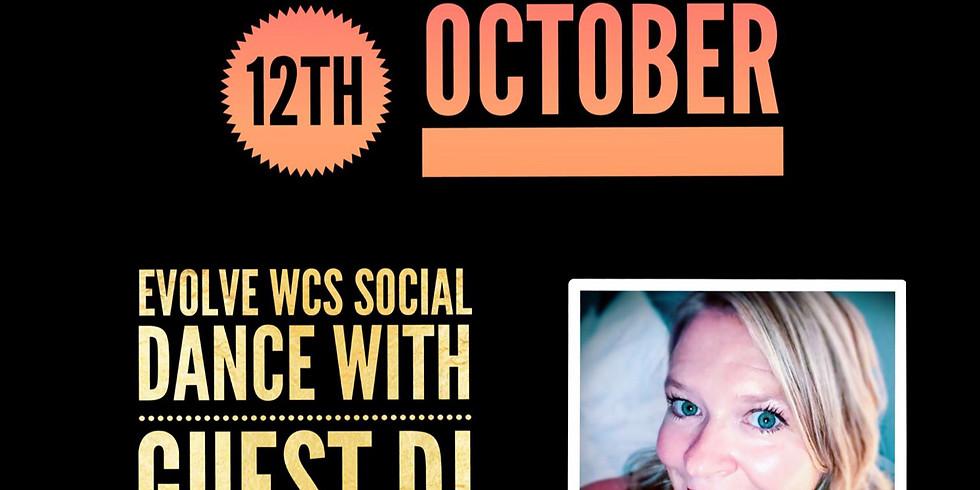 Step It Up October Workshop & Evening Social Dance with Guest DJ Bickle