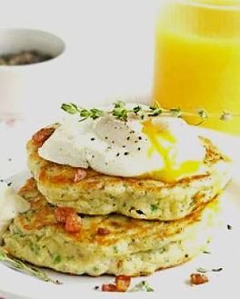 Bacon and Egg Hotcakes