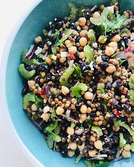 Lemony Lentil Salad