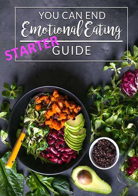 Free Starter Guide to ending emotional eating