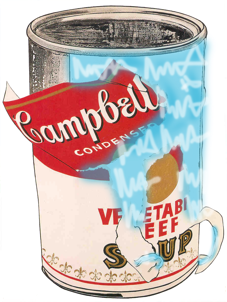 Andy Warhol X Mr HOLLYWOOD - Soup