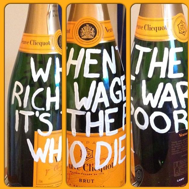 When the rich wage war