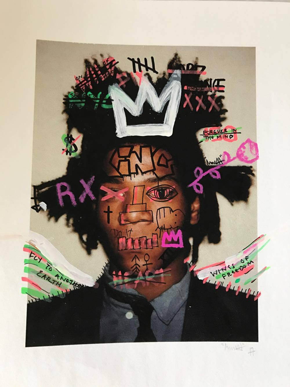 Basquiat X Mr HOLLYWOOD
