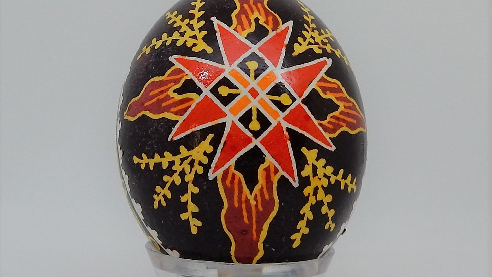 Light of the World Chicken Egg Pysanky