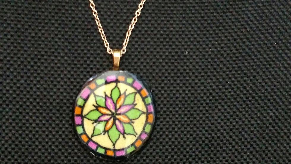 Art Deco - Mandala Style Pendant