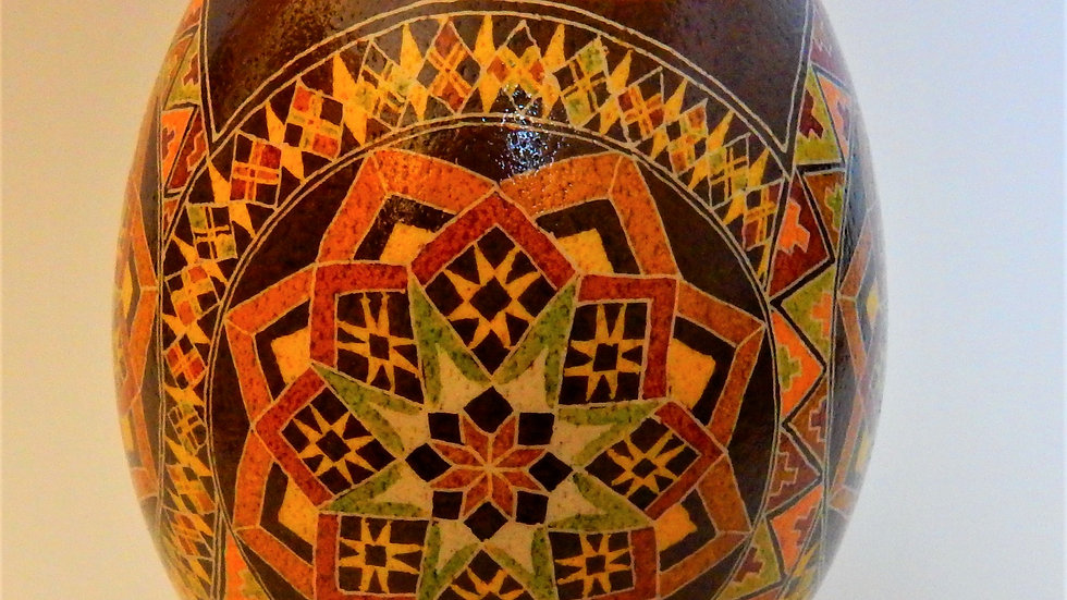 Mosaic Inspiration - Rhea Egg Pysanka