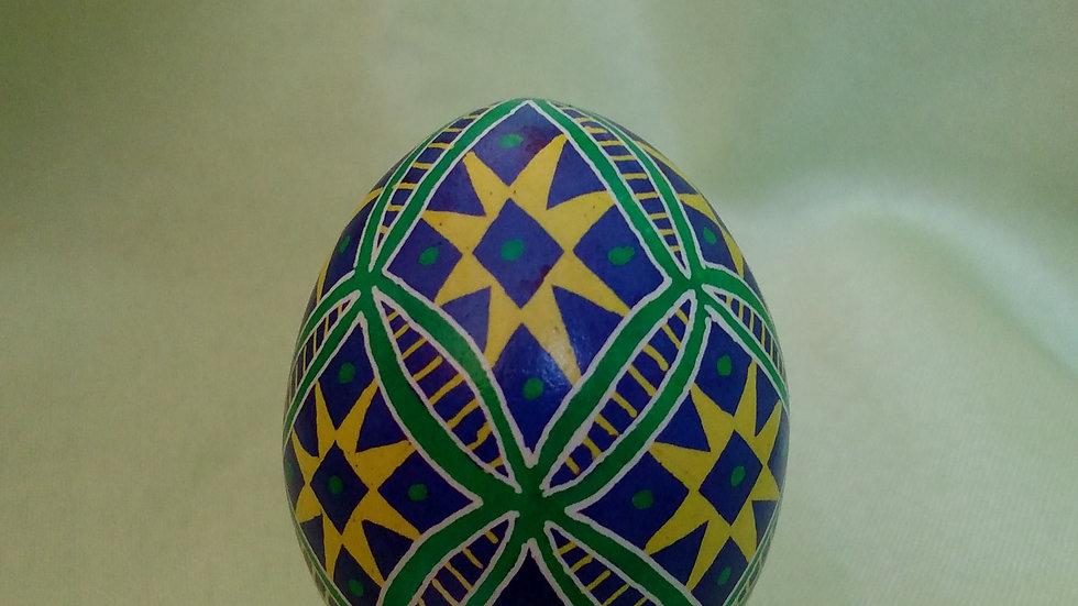 Wedding Circles - Chicken Egg Pysanky