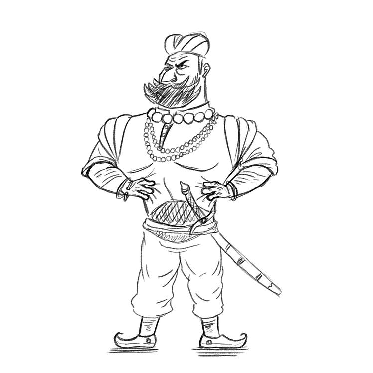 rajasthan soldier sketch.png